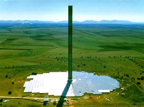Central eólico-solar