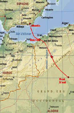 Viabilidad ambiental para el gasoducto de Argelia