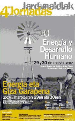 IV Jornadas en Energía y Desarrollo Humano en Navarra
